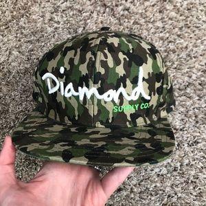 Other - 2/$7 Diamond Supply Co SnapBack camo camouflage